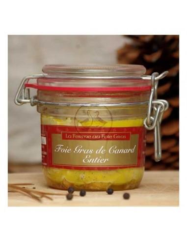 Jar of duck foie gras