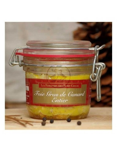 Bocal foie gras de canard entier -...