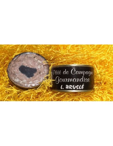 Country pâté with truffle - 70 grs