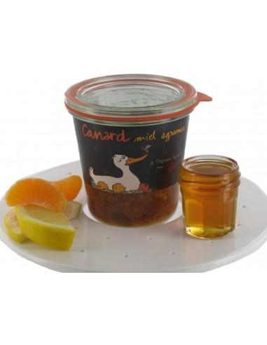 Honey and citrus duck pâté